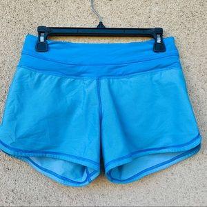 Lululemon running shorts blue size 4